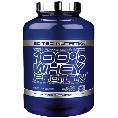 Scitec Nutrition, 100% Whey Protein, 2350 g