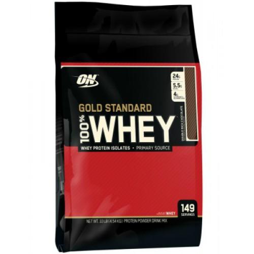 Optimum Nutrition, Whey Gold Standard, 4540 g