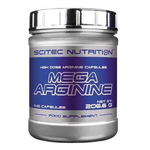 Scitec Nutrition, Mega Arginine, 140 kps
