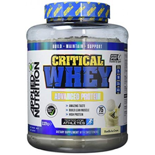 Applied Nutrition, critical whey 2270 g