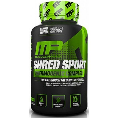 MusclePharm, Shred Sport, 60 kaps.