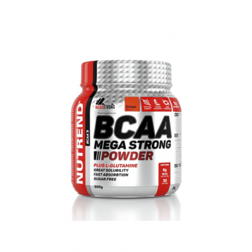 Nutrend, BCAA Mega Strong, Powder, 300 g