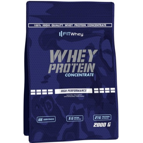 FITWhey, Whey Protein Concentrate, 2000 g