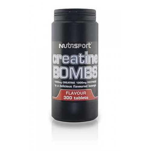Nutrisport, Creatine BOMBS, 300 tbl