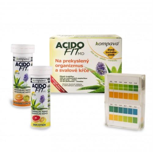Kompava, AcidoFit MD, 20 tbl