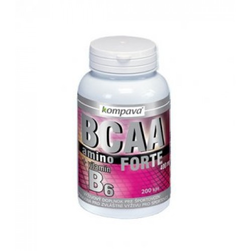 Kompava, AMINO BCAA Forte, 200 kps