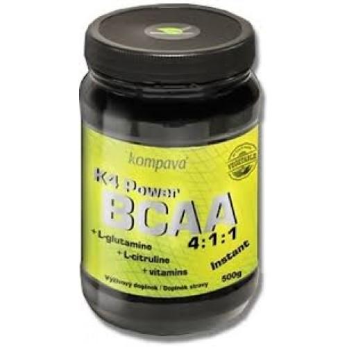 Kompava, K4 Power BCAA, 500 g