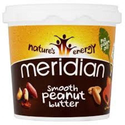Meridian Foods, 100% Arašídové Maslo-Chrumkavé, 1 kg