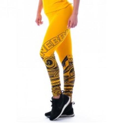 Nebbia, Supplex Legíny Tattoo, 215, Farba: Žltá