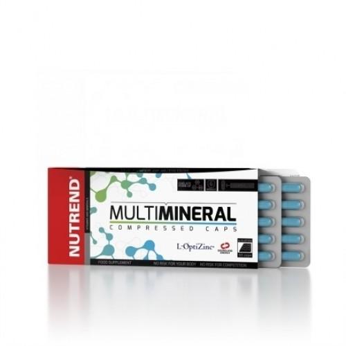 Nutrend, Multimineral, 60 kps