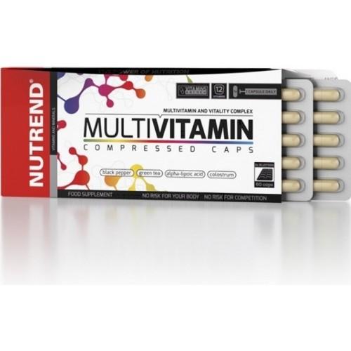 Nutrend, Multivitamin Compressed, 60 kps