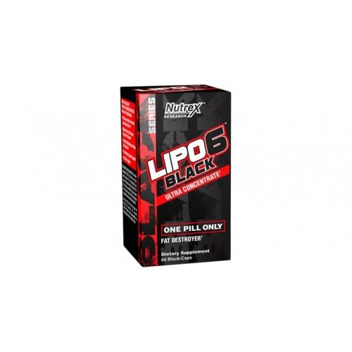 Nutrex, Lipo 6 Black, 60 tbl