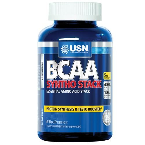 USN, BCAA Syntho Stack, 240 kps