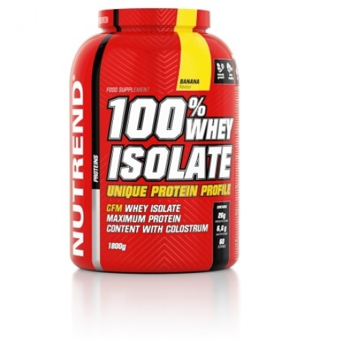 Nutrend, 100% WHEY ISOLATE, 900 g